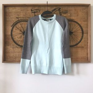French Connection Blue // Grey Sweater